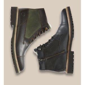 ROCKPORT Men's Cap-Toe Boots Sz. 8